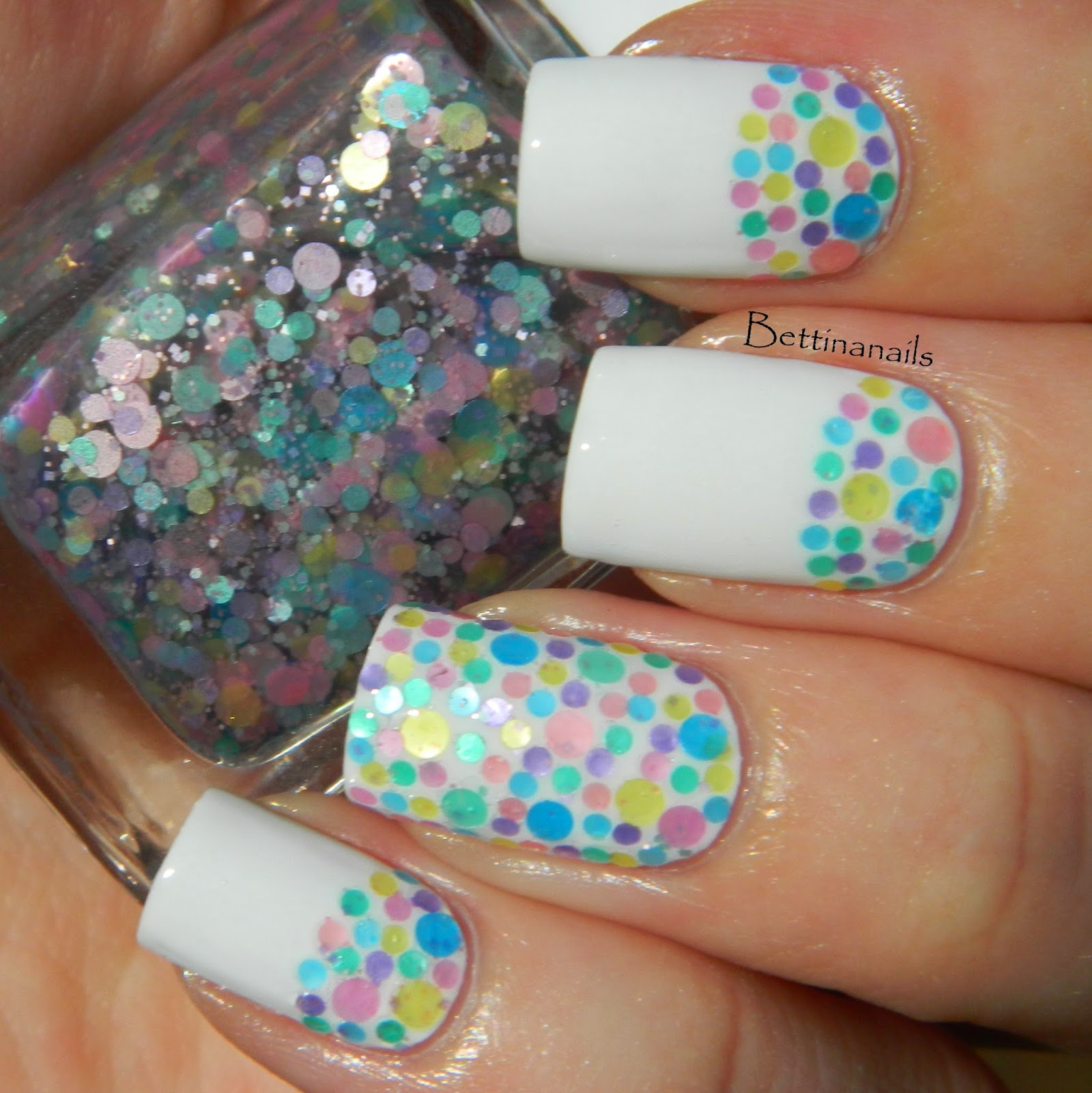 Funky Nail Luv Embellishment - Nail Art Design Ideas - thewowproject ...