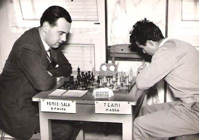 Partida de ajedrez Teani vs. Ponce Sala