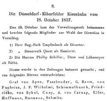 J. F. Benzenberg: Ueber den Aktienhandel der Düsseldorf-Elberfelder Eisenbahn. 1838