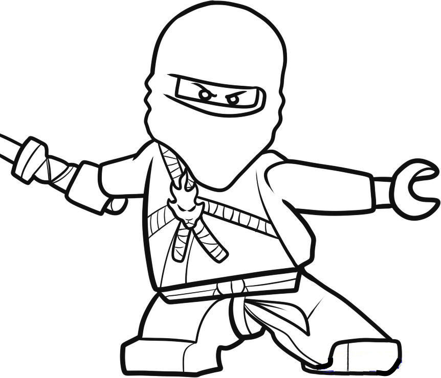 Lego Ninjago Coloring Pages Free Printable Pictures Ninjago Coloring Pages