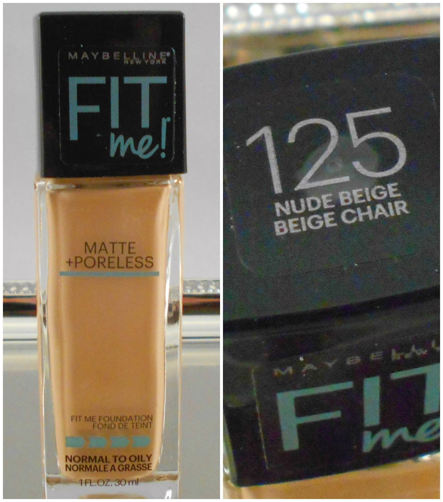 Maybelline Fit Me! Matte & Poreless Foundation + Powder