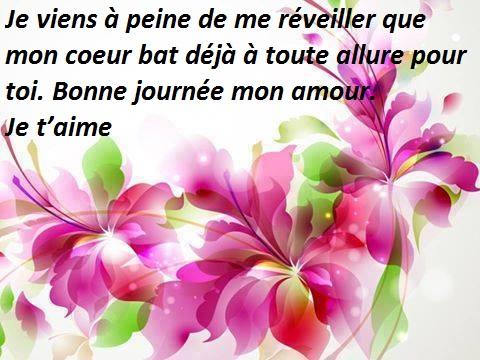 Bien connu Sms d'amour matinal - Mot d'amour Phrase d'amour Lettre d'amour  HN45