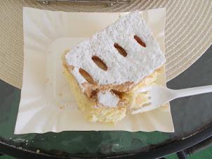 """Kremowki  Papieska"" pastry.Wadowice towns most favourite sweet."