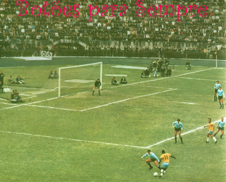 TAÇA RIO BRANCO, PACAEMBU, junho de 1968: a foto mais linda de todo o meu acervo de livros antigos