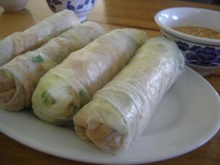 Shredded Pork and Pork Skin Rice Paper Rolls Recipe (Bi Cuon) 2