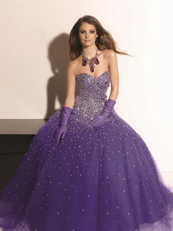 purple prom dresses size 20