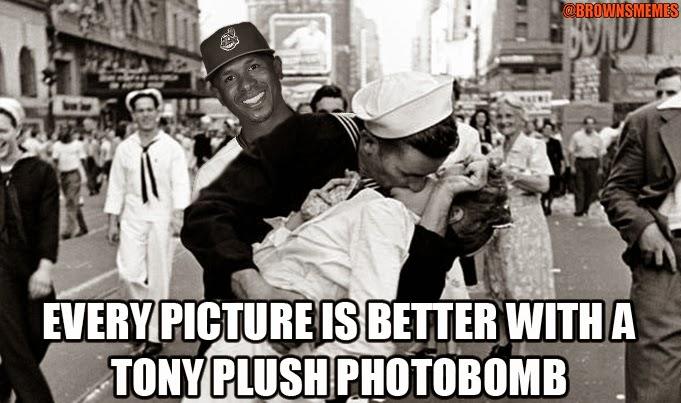 Nyjer Morgan Tony Plush Cleveland Indians Funny Baseball Memes