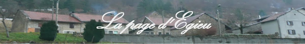 La page d'Egieu