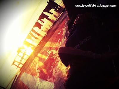 seasick sunset beach tioman joyce yap blog