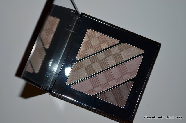 burberry eyeshadow quad pink taupe