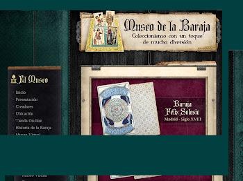EL 3 DE DICIEMBRE SE INAUGURA EL MUSEO DE LA BARAJA EN MADRID