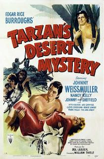Tarzán en el desierto misterioso (AKA: Tarzán el temerario) | 1943 | Tarzan's Desert Mystery