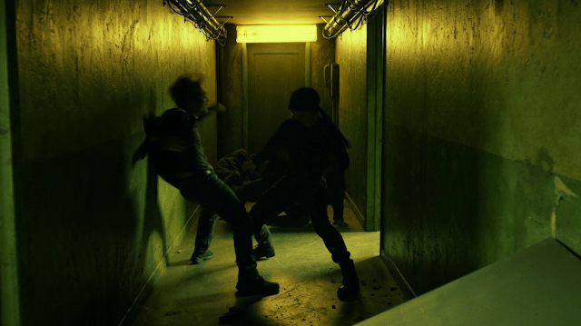 Daredevil shows this Russian thug how he do-si-dos.