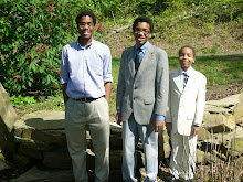 Three Gentlemen on Easter 2014