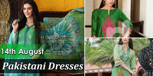 14th August Pakistani Dresses 2015