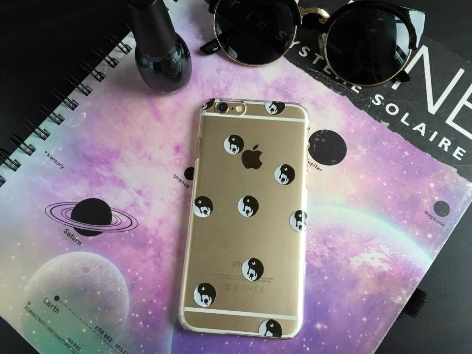 Case Design clear phone case diy : Cat Eyes and Glitter Bombs: DIY: Tumblr Inspired Clear iPhone 6 Case