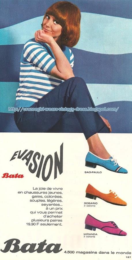 Bata - 1967 mod 60s 1960 shoes
