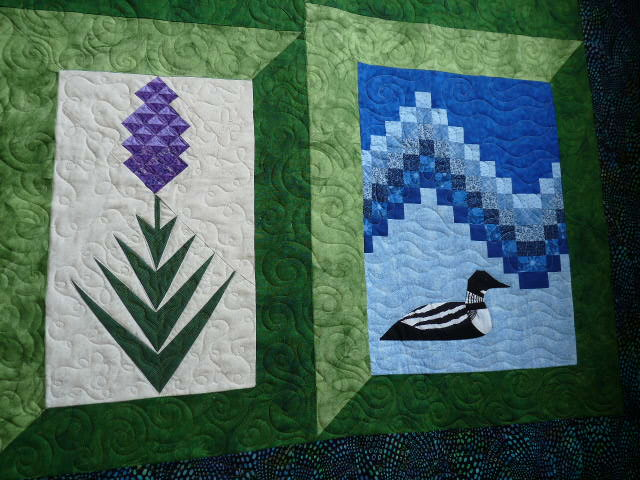 Sewing & Quilt Gallery: Maine Quilt : loon quilt pattern - Adamdwight.com