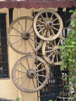 Wagon Wheels In Çukurcuma, Istanbul
