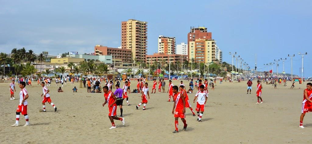 El Murciélago Beach Manta soccer