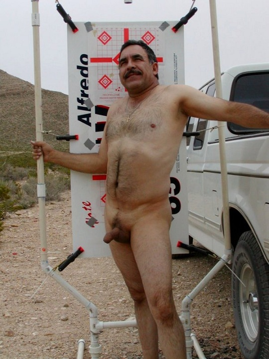 Cowboys Hairy Naked Daddy