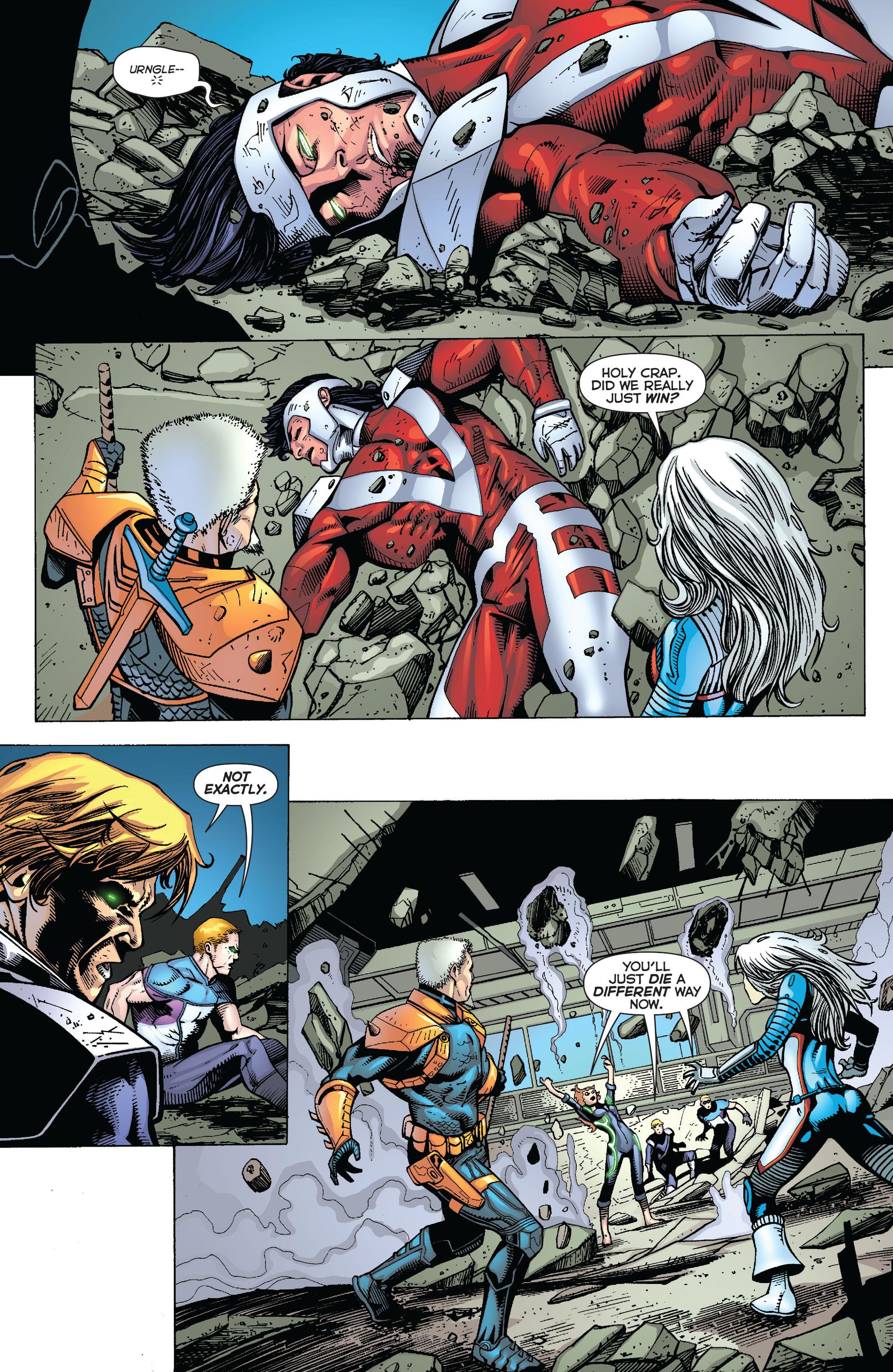 Deathstroke (2011) Issue #20 #21 - English 17