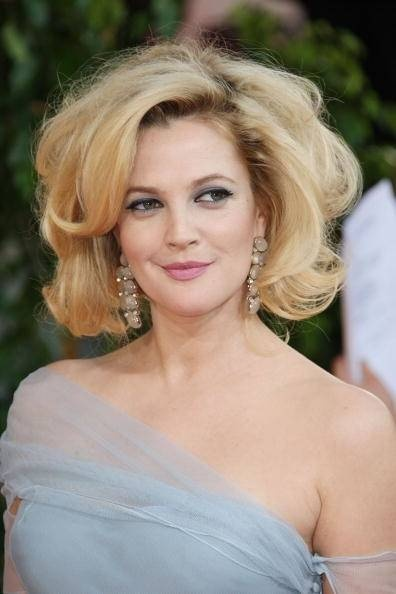 Drew Barrymore sixties hairstyle