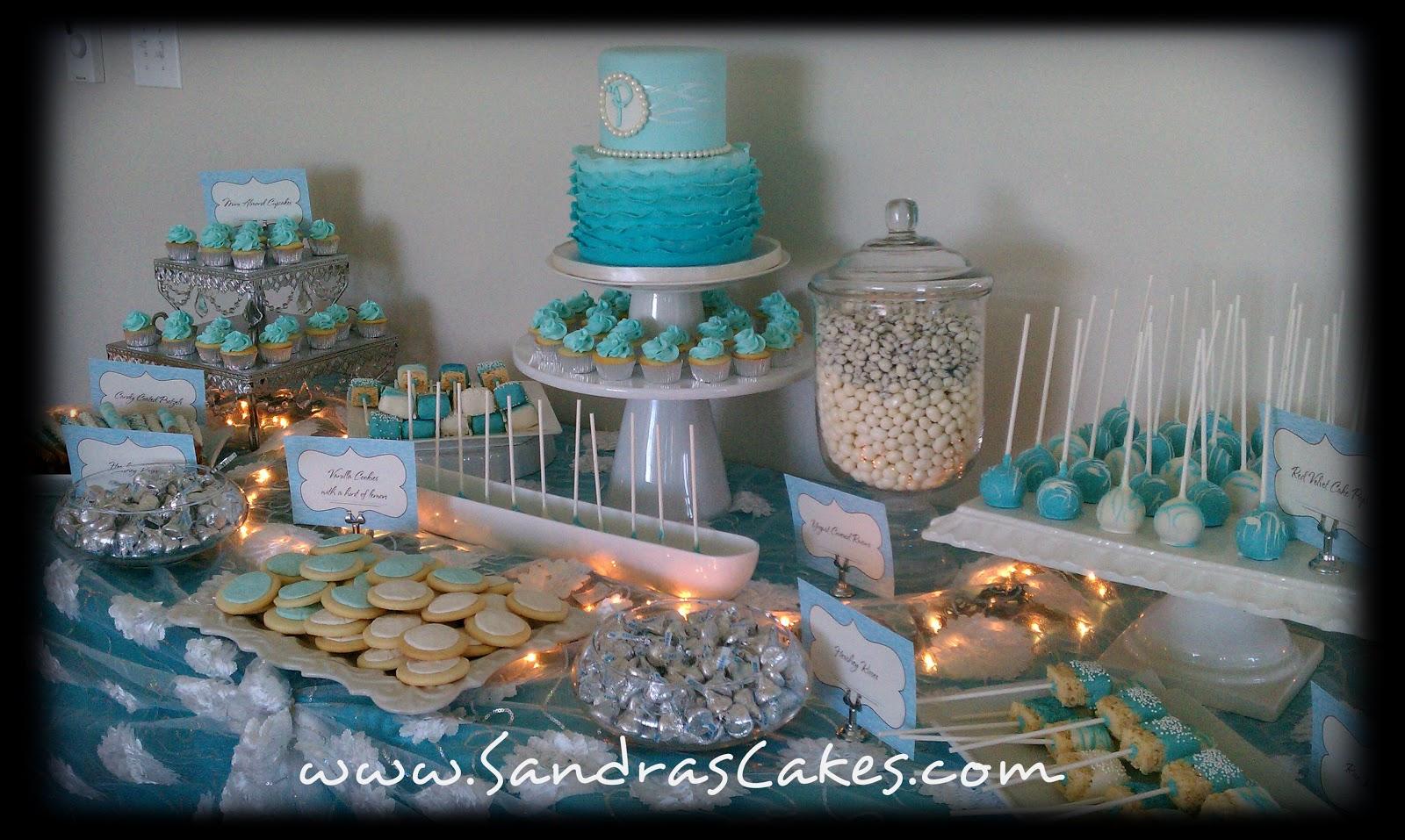 Birthday Cakes Dessert Table
