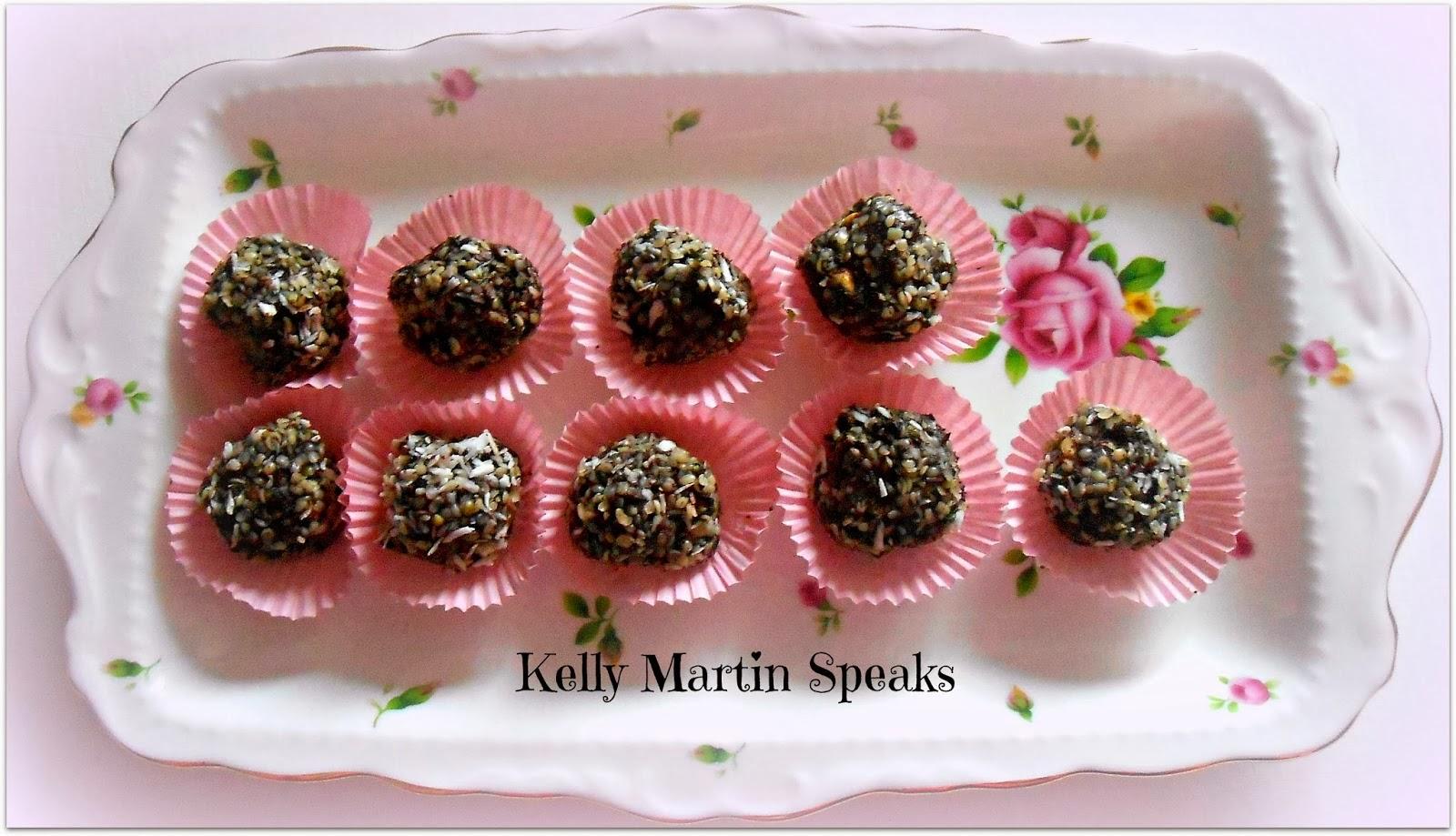 Raw Hempseed Dark Chocolate Truffles