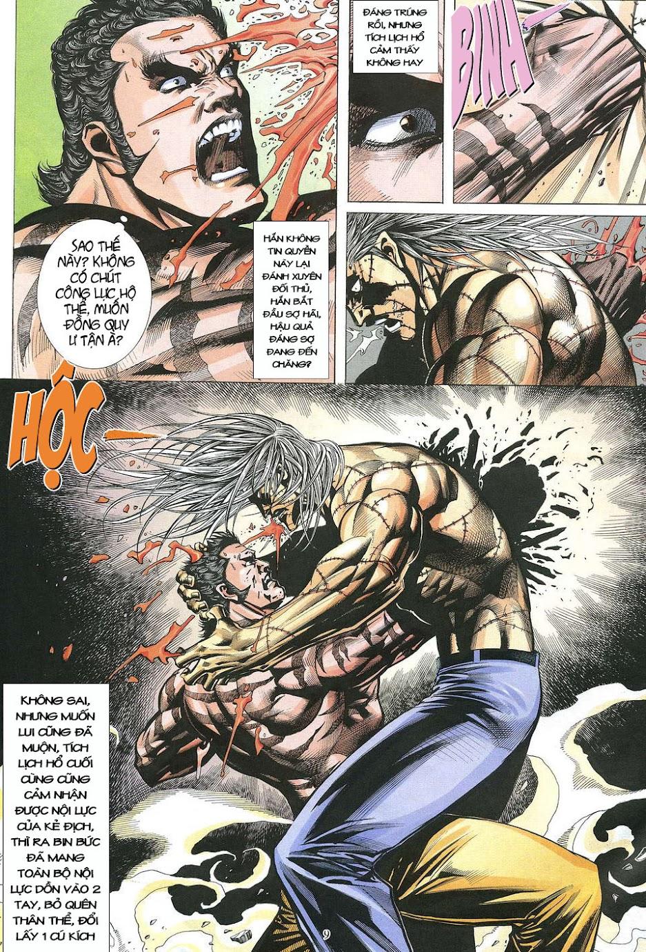 Phong Lôi chap 39 - Trang 9