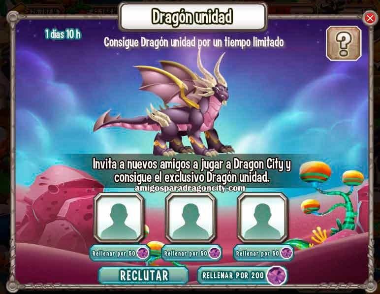 imagen del dragon unidad gratis de dragon city