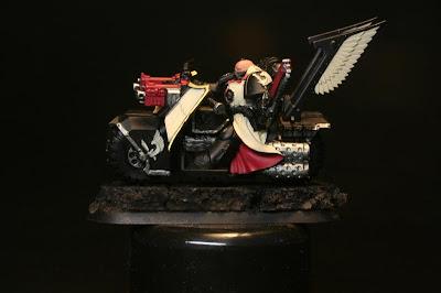 Oro Viejo de Vallejo Model Color en los Motoristas del Ala de Muerte de los Ángeles Oscuros