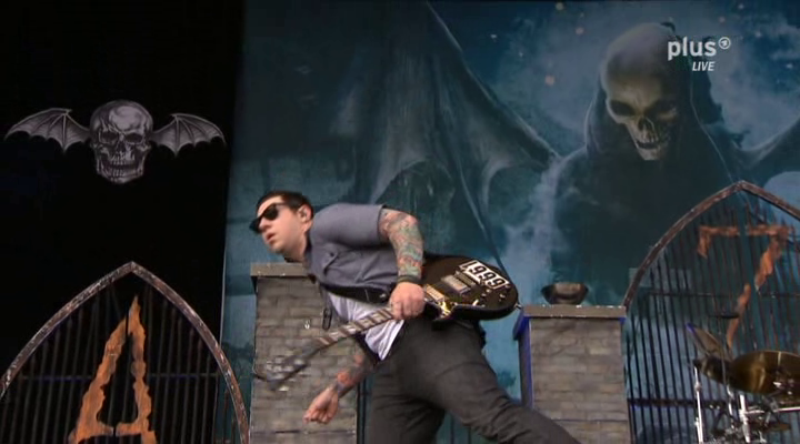 Avenged Sevenfold Almost Easy Live Rock Am Ring