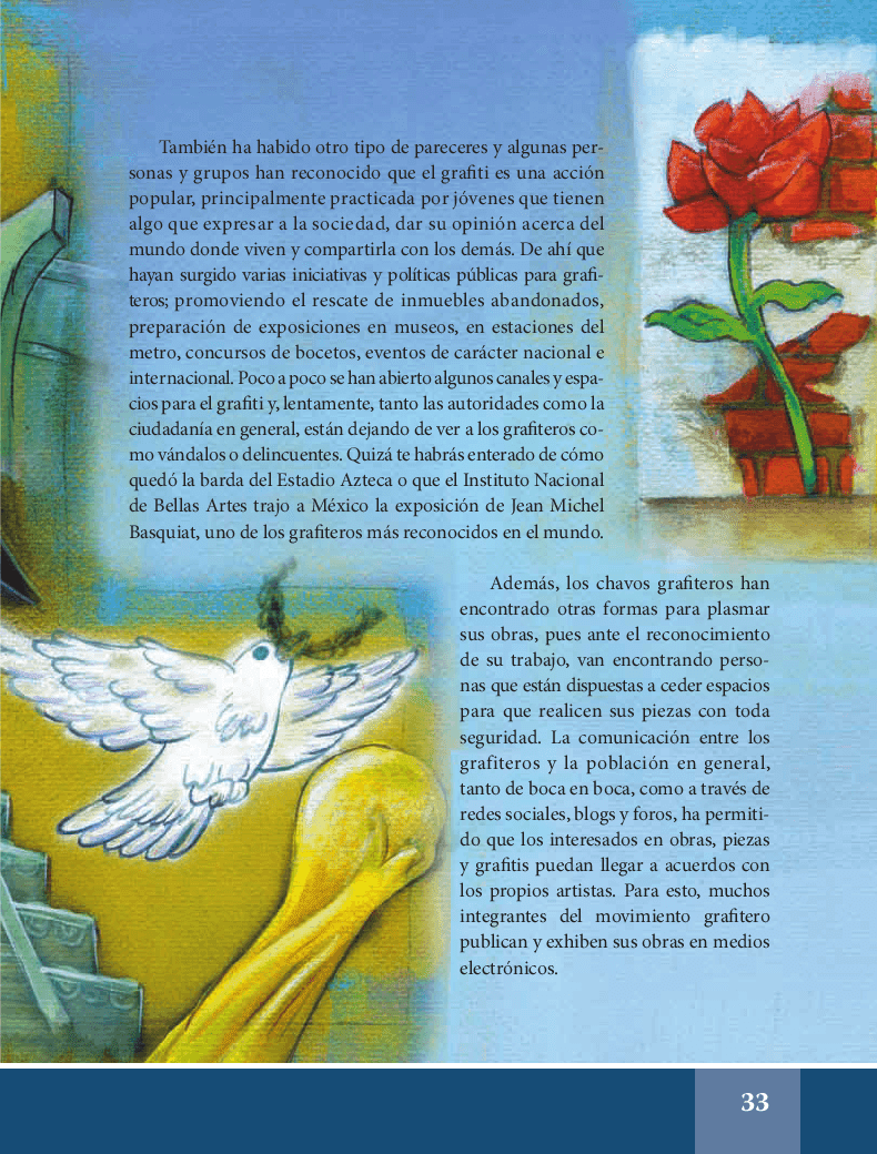 Grafiti: jóvenes pintando el mundo - Español Lecturas 6to 2014-2015