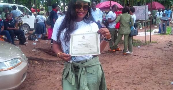 Nollywood Actress Nuella Njubigbo Completes her NYSC Programme
