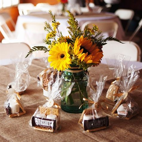 These Su0027more Favors Are A Great Idea For A Fall Wedding. Hot Chocolate Is  Another Idea That We Had At Our November Wedding.