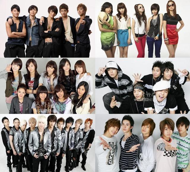 kpop group idol