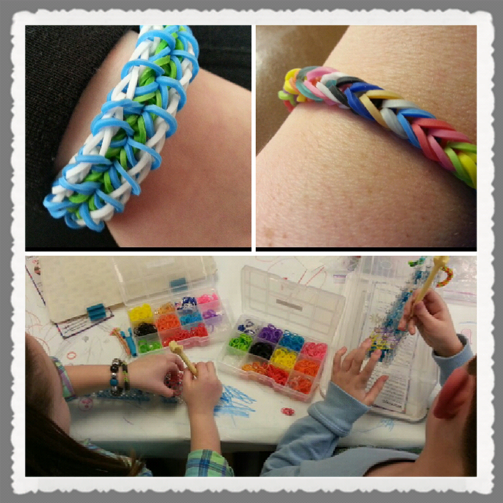 free rainbow loom club at local library