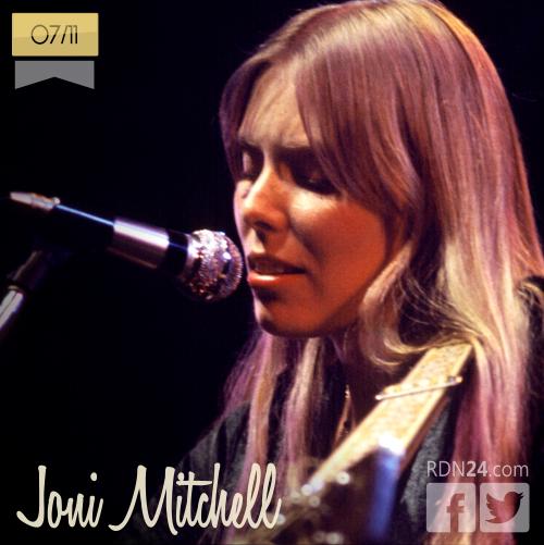 07 de noviembre | Joni Mitchell - @JoniMitchellcom | Info + vídeos