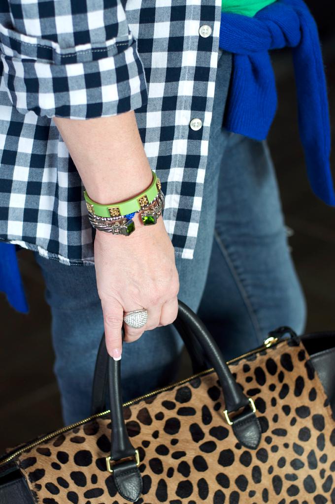 Rustic-cuff-stack-silver-bracelet
