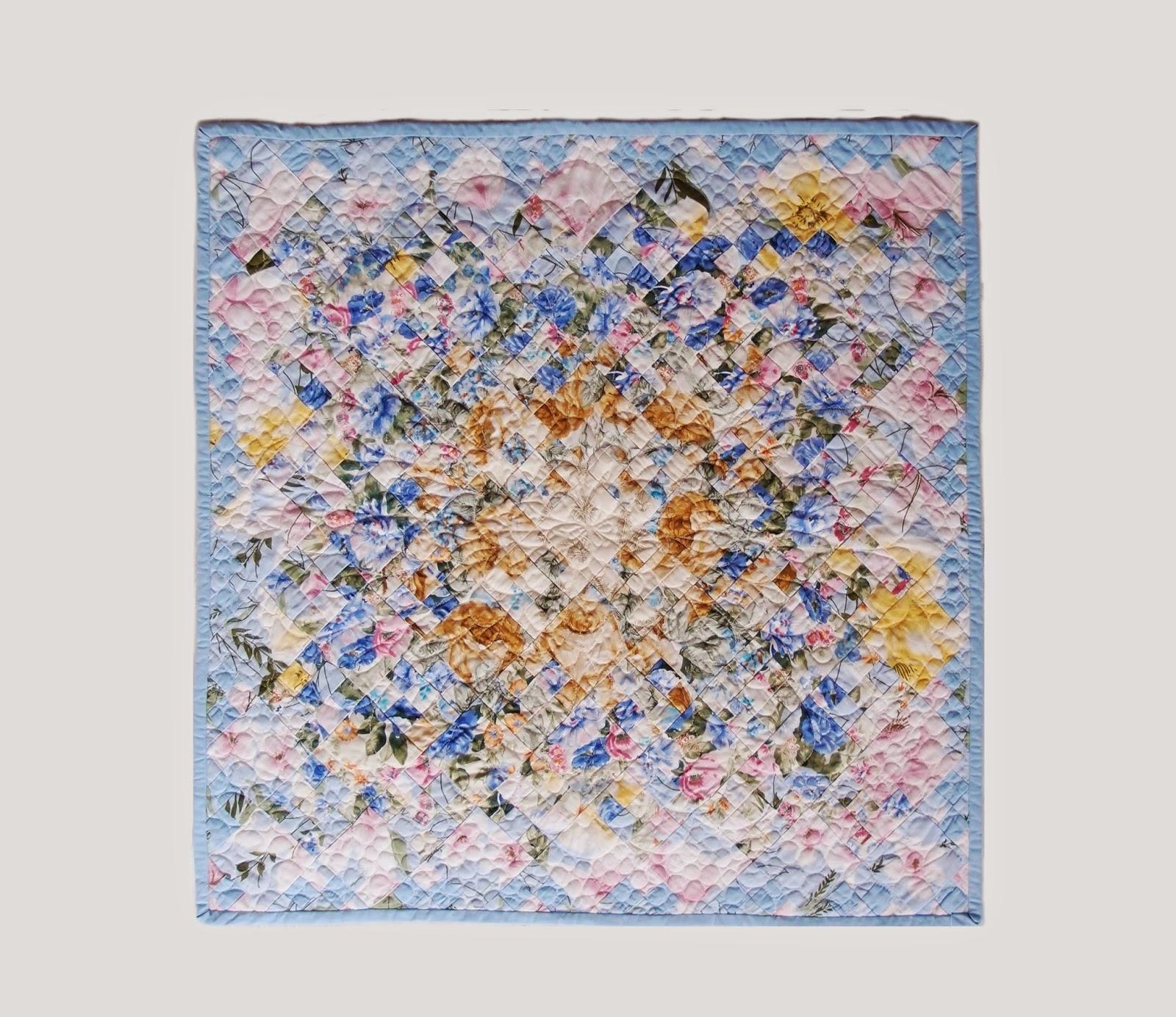 Watercolor Garden Quilt