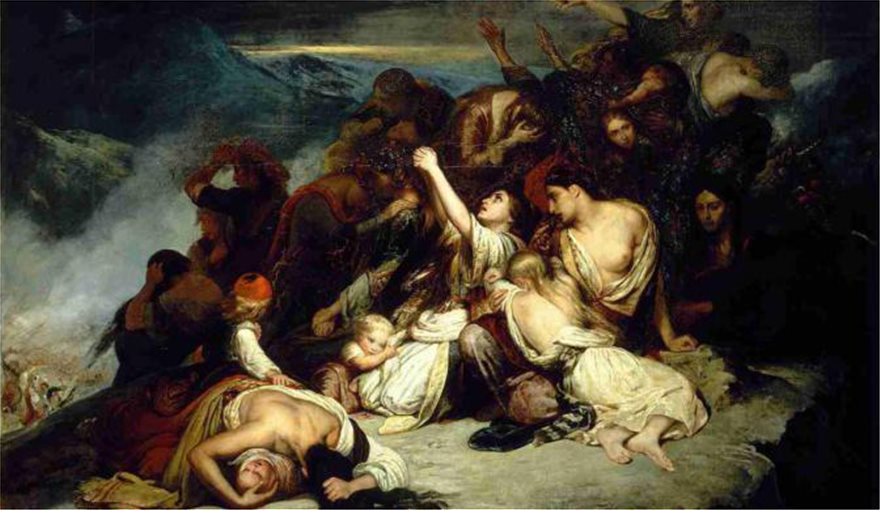 Τo ολοκαύτωμα της Σαμοθράκης απο τους Τούρκους το 1821