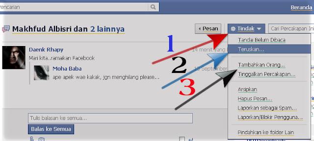 Cara mengirim pesan ke banyak orang di facebook Gambar1