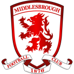 Logo Tim Klub Sepakbola Middlesbrough PNG