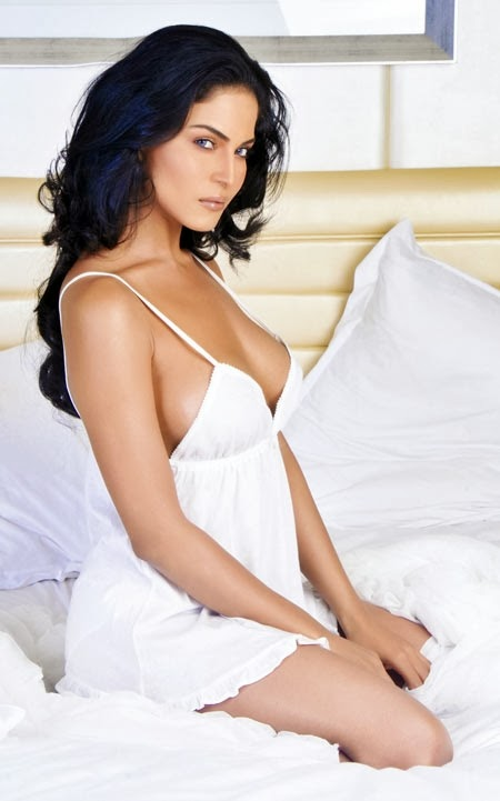 Veena Malik Hot Night Lingerie