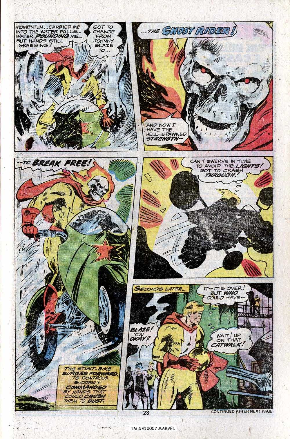 Ghost Rider (1973) Issue #23 #23 - English 25