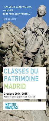 Classes du patrimoine : pratiquer le français autrement