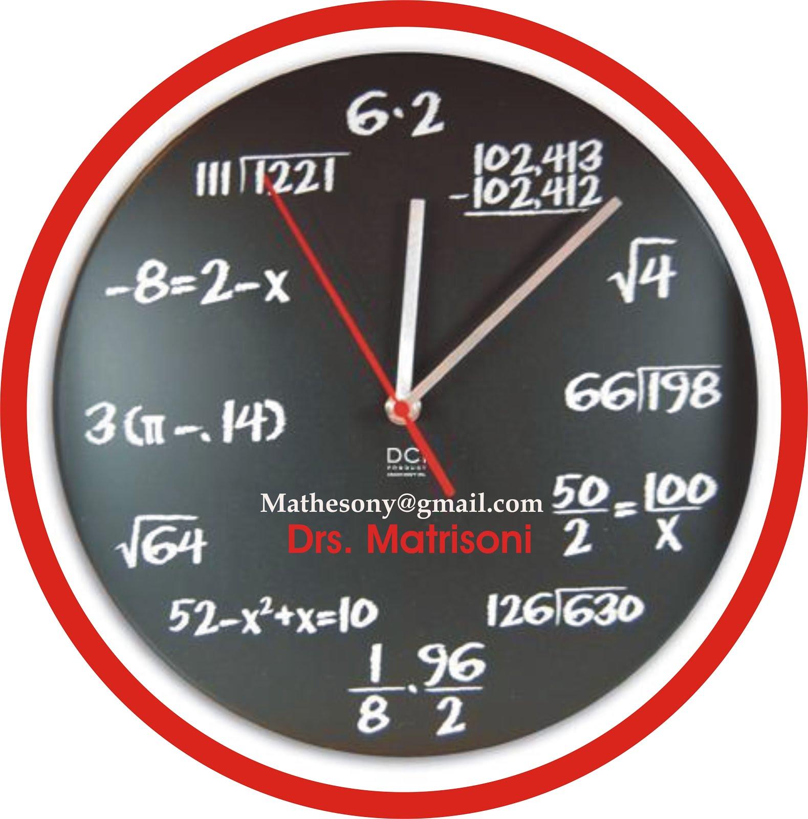 Kumpulan Materi Matematika