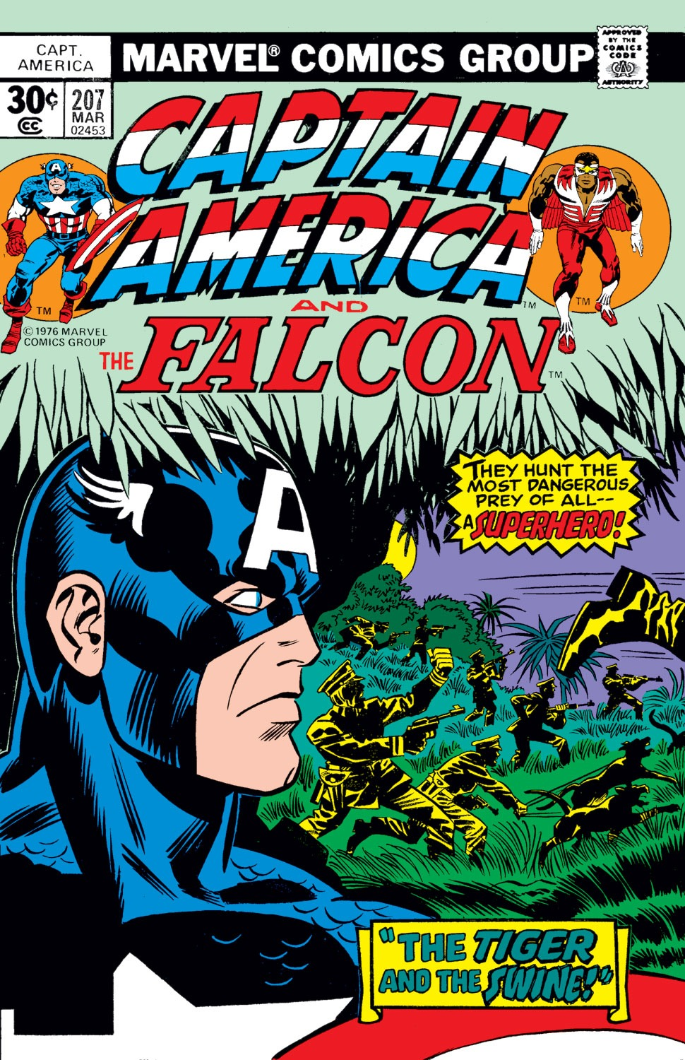 Captain America (1968) Issue #207 #121 - English 1