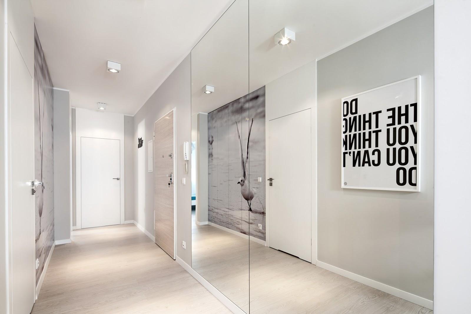 20 pomysłów na szary korytarz | Bajkowe Wnętrza
